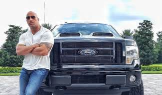Rock Ford The Rock Gifted His Custom Ford F 150 To His King