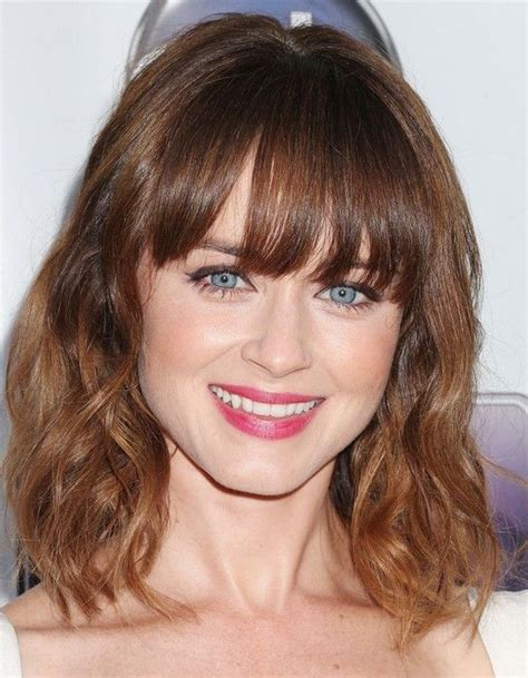 hairstyles for school with front bangs 17 best images about alexis bledel on pinterest lauren