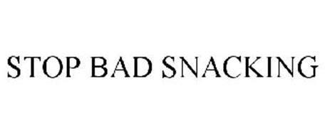 stop bad snacking trademark  lesserevil brand snack