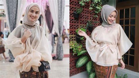 Pakaian Atasan Wanita Blouse Pita Poppy 12 inspirasi atasan berbahan kain kaca atau organza buat pergi kondangan spesial untukmu yang