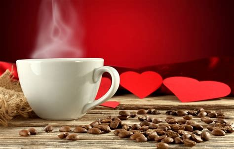 coffee wallpaper red wallpaper couples background red cup heart hearts