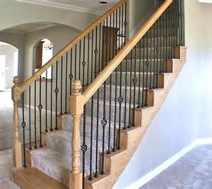 Wrought Iron Banister Spindles by For My Staircase Get Rid Of The Fully