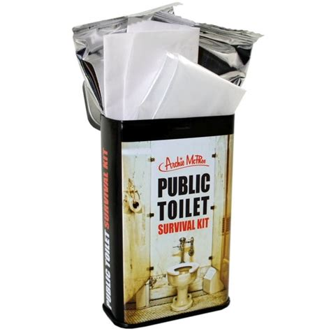 bathroom survival kit public toilet survival kit find me a gift