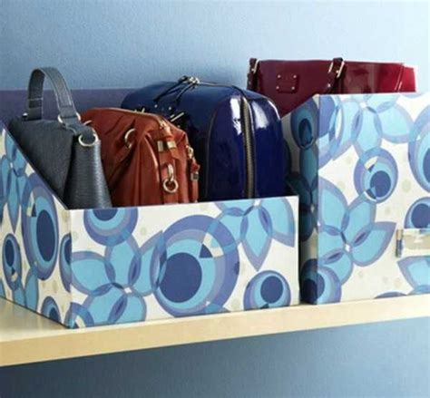 How To Organize Handbags In Closet by 33 Storage Ideas To Organize Your Closet And Decorate With