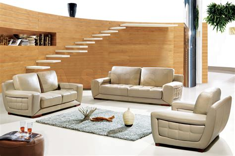Living Room With Contemporary Furniture Modern Dining Room Modern Living Sofa