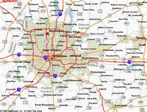 Map Of Ohio With Cities by Map Of Ohio Cities Images