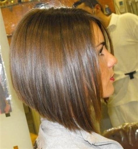 coupe de cheveux carre plongeant
