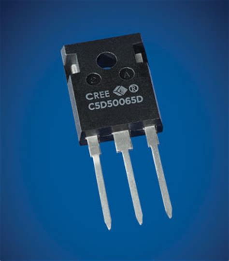cree schottky diodes cree launches discrete 20a and 50a 650v sic schottky diode rectifiers for power supplies
