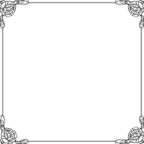 frame border template frames and borders for word pictures to pin on
