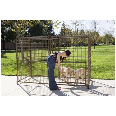 outdoor kennel advantek 174 4x8 outdoor kennel 300958 kennels beds
