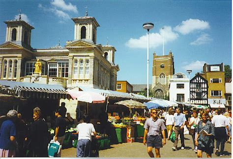 new year in kingston upon thames market and market place 169 colin smith geograph