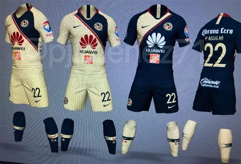 imagenes nike club america nike club america 2018 19 home away kits leaked footy