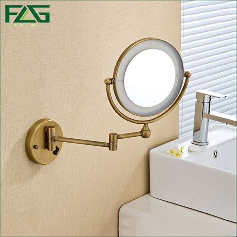 wall mounted lighted magnifying bathroom mirror popular bathroom magnifying mirrors wall mounted buy cheap