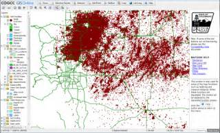 colorado and gas gis data fracking data portal