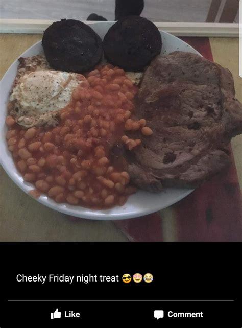 Friday Treat by Cheeky Friday Treat Shittyfoodporn