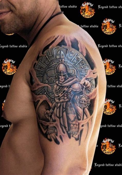 50 unique aztec tattoos for amazing ideas