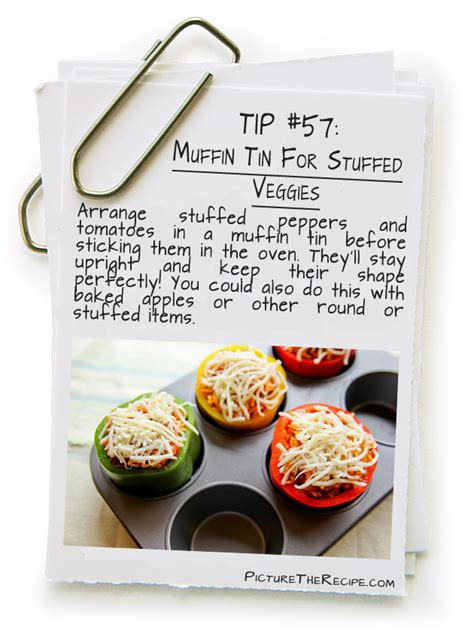 muffin tin for stuffed veggies picture the recipe