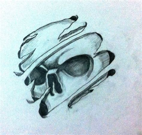 cool tattoo drawings cool skull drawings pencil drawing