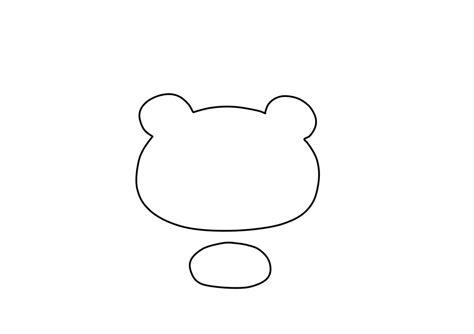 best photos of polar bear head template teddy bear face