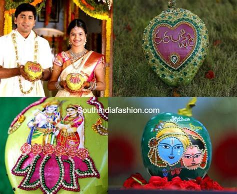 How to Decorate Coconut for Indian Wedding