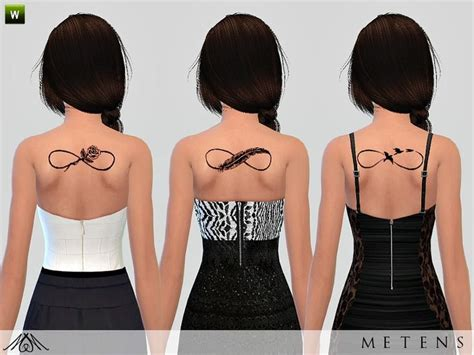 sims 4 tattoos 11 best images about sims 4 on