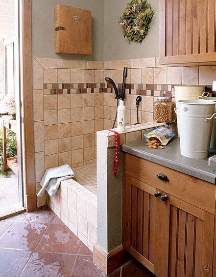 Space Saver Shower Baths dog centric homes