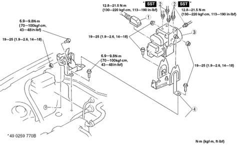 repair anti lock braking 2012 ford e series transmission control repair guides anti lock brake system hydraulic control module autozone com