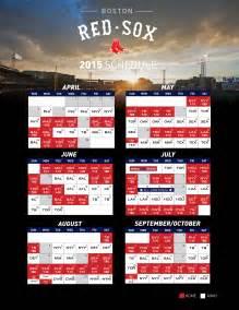 sox home schedule printable schedule boston sox