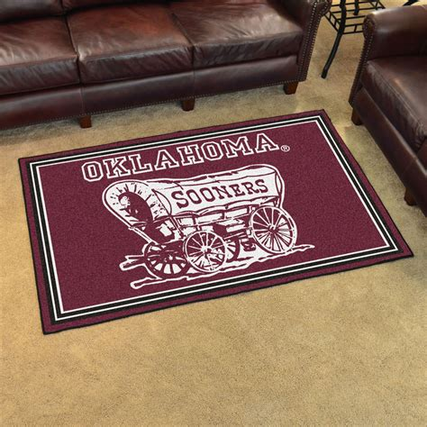 Heritage Rugs Unlimited by Area Rugs Okc Oklahoma Sooners 8 X 10 Ultra Plush Carpet