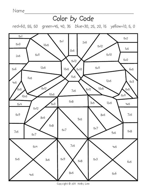 math coloring sheets 2nd grade fall coloring sheets 4th