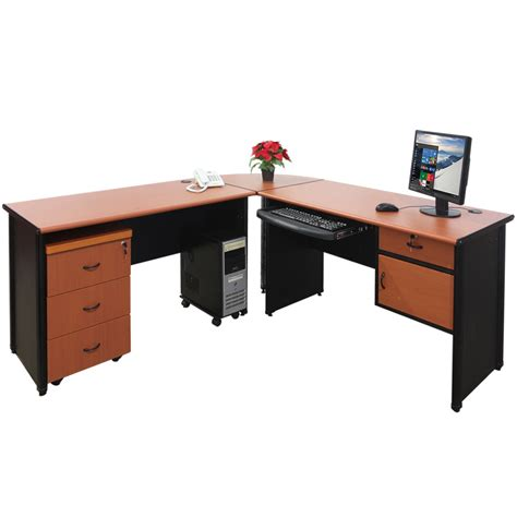 Meja Fax meja sudutcorner table lunarfurniture lunarfurniture