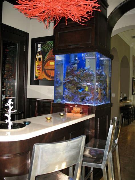 bar de cuisine pas cher l aquarium mural en 41 images inspirantes