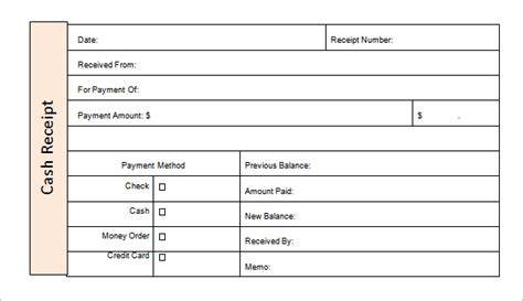 receipt of funds template money receipt template 19 free sle exle format
