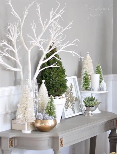 17 best ideas about white christmas decorations on
