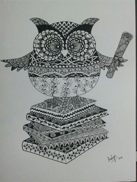 zentangle owl pattern 159 best images about zentangle owls on pinterest owls