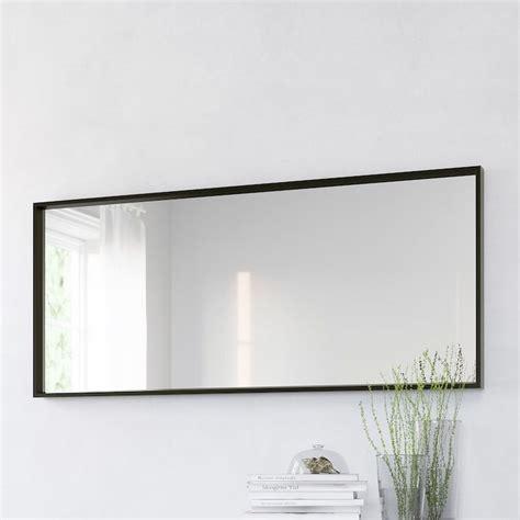 nissedal mirror black ikea   large mirror