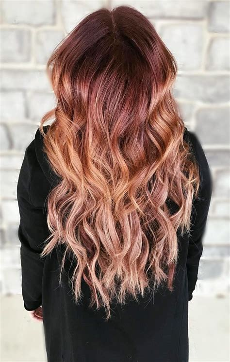 25 best ideas about balayage 25 best ideas about copper balayage on