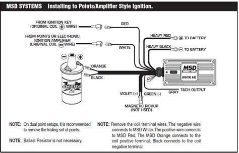 msd 6al box wiring diagram how to install an msd 6a digital ignition module on your 1979 1995 mustang americanmuscle