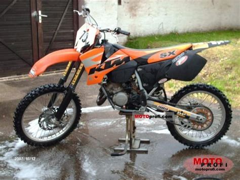 Ktm 125 Sx Weight Ktm 125 Sx Technical Data Of Motorcycle Motorcycle Fuel