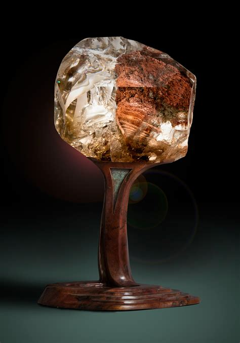 spectacular gemstone sculptures  lawrence stoller