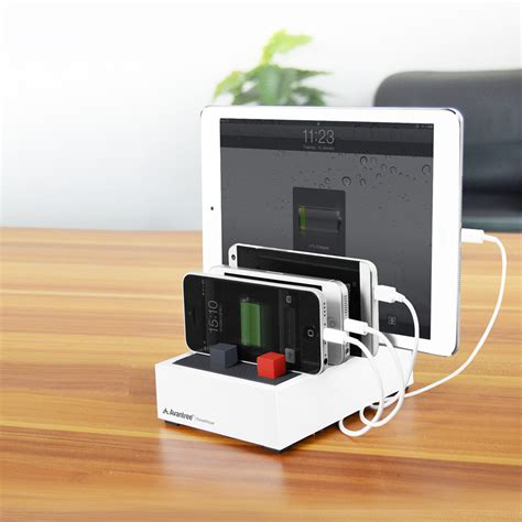 charging station avantree powerhouse 4 5a usb desktop charging station