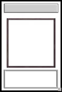 free trading card template trading card template free images