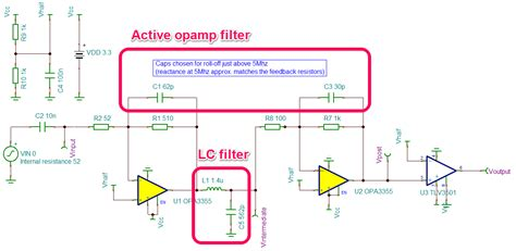 active filter capacitor selection op choosing between active op filtering or an lc filter electrical engineering stack