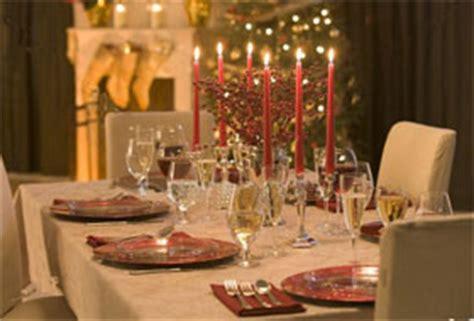tavole preparate per natale addobbare la tavola di natale