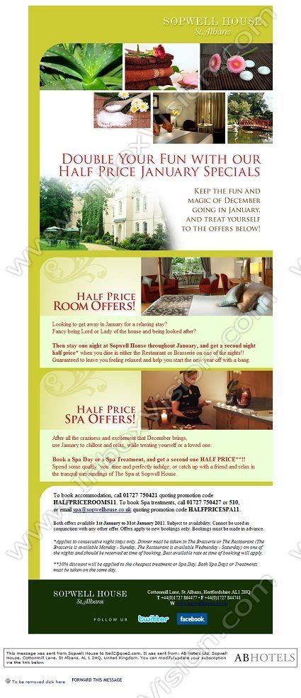 hotel newsletter layout 7 best vacation rental email templates images on pinterest