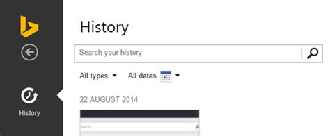 bing history bing how to clear your search history