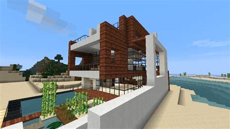 minecraft beach house small modern beach house schematic minecraft project