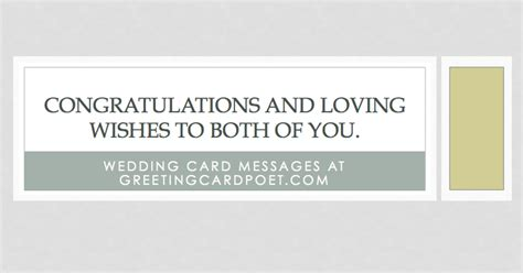 card writing template newlyweds wedding card messages wishes and quotes what to write