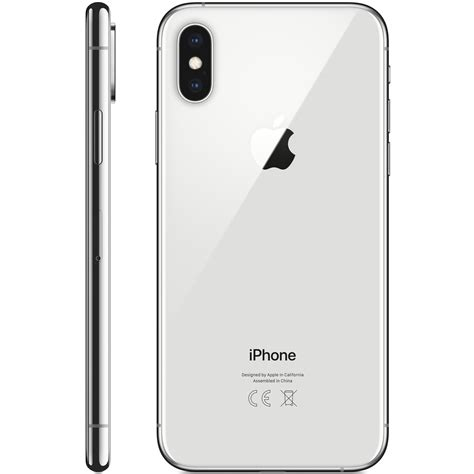 buy apple iphone xs max 256gb silver shop null on carrefour uae