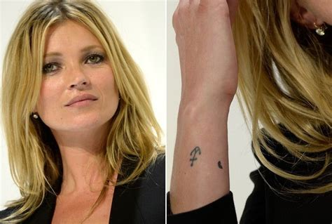 kate moss tattoo kate moss s anchor the 50 most stylish tattoos